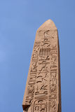 Obelisk in Egypt Stock Image