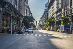 The Obelisk (El Obelisco) in Buenos Aires. Stock Image