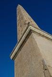 Obelisk em Praça del Popolo, Fotos de Stock Royalty Free