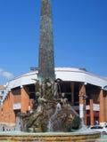 Obelisk in Fuengirola on the Costa Del Sol Spain Stock Photo