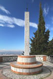 Obelisk at Granada Royalty Free Stock Photo