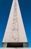 Obelisk Hieroglyphs Royalty Free Stock Images