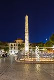 Obelisk at hippodrome in Istanbul Royalty Free Stock Photography