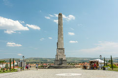 Obelisk Of Horea, Closca And Crisan In Carolina White Fortress Stock Photo