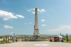 Obelisk Of Horea, Closca And Crisan In Carolina White Fortress Stock Photo