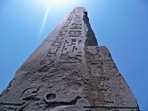 Obelisk im Sun Stockfotografie