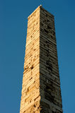 obelisk izolował Obrazy Royalty Free