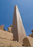 Obelisk at the Karnak Temple Royalty Free Stock Photography