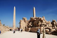 obelisk karnaku Obraz Royalty Free