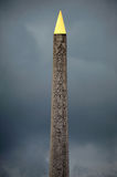 Obelisk of Luxor Stock Photo