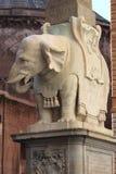 Obelisk of Minerva in Rome Stock Photo