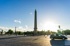 Obelisk Monument Paris Royalty Free Stock Photography