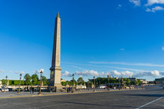 Obelisk Monument Paris Stock Photos