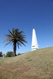 Obelisk - Newcastle Australia. The obelisk is a prominent local landmark in Newcastle Australia. The obelisk was erected in 1850 as a navigation aid for shipping Royalty Free Stock Photography