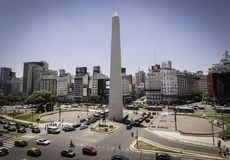 Free Obelisk Of Buenos Aires, The Center Of The Country. Stock Photo - 108646830