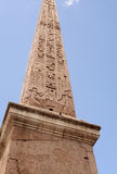 Obelisk in pantheon-Rome-Italië Royalty-vrije Stock Afbeeldingen