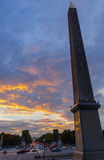 Obelisk paris Stock Photography