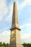 Obelisk place de la concorde Royalty Free Stock Image