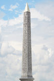 Obelisk, Place de la Concorde, Paris Stock Images