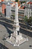Obelisk in Praca dos Restauradores Stock Photography