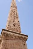 Obelisk przy Włochy Obrazy Royalty Free