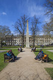 Obelisk in Queen Square in Bath Stock Photography