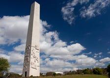 The obelisk of Sao Paulo. Landmark of the city Royalty Free Stock Photo
