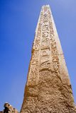 Obelisk at The Temple of Karnak Stock Image