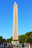 The Obelisk of Theodosius at Hippodrome in Istanbul, Turkey Stock Photo