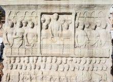 Obelisk Theodosius, Istanbuł, Turcja Fotografia Royalty Free