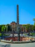 Obelisk of Theodosius stock photography