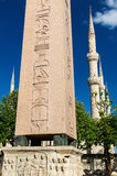 The Obelisk of Theodosius in Istanbul, Turkey Stock Photography