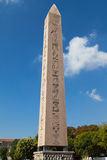 Obelisk of Thutmose III in Istanbul Royalty Free Stock Image