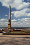 The obelisk to Minin and Pozharsky royalty free stock image
