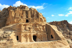 Obelisk Tomb and Bab Al-Siq Triclinium Royalty Free Stock Image
