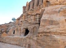 Obelisk Tomb at Petra Stock Photo