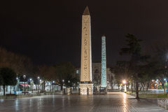 The Obelisk of Tuthmosis III, Istanbul, Turkey. Stock Images