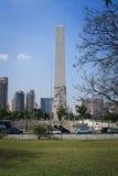 Obelisk van Sao Paulo royalty-vrije stock fotografie