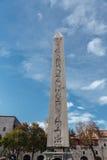 Obelisk van Theodosius Royalty-vrije Stock Afbeeldingen