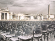 The obelisk in Vatican, Rome, Italy Royalty Free Stock Photo