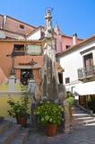 Obelisk von Addolorata. Maratea. Basilikata. Italien. Lizenzfreie Stockfotografie