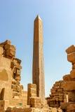 Obelisk von Hatshepsut Stockfotografie