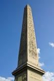 Obelisk von Paris stockbilder