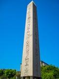 Obelisk von Theodosius Stockbild