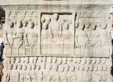 Obelisk von Theodosius, Istanbul, die Türkei Lizenzfreie Stockfotografie