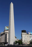 Obelisk w Buenos Aires Fotografia Royalty Free