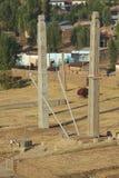 Obeliskar för UNESCOvärldsarv av Axum, Etiopien Royaltyfri Bild