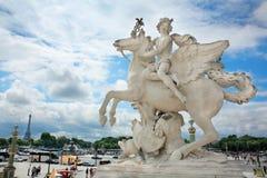 Obelisque Chevaux de Marly Royalty Free Stock Image