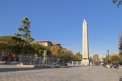 Obelisque a Costantinopoli Immagini Stock