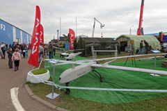 Obemannade flyg- medel Royaltyfri Fotografi